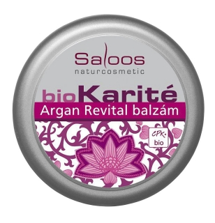 Saloos Bio Karité balzám Argan Revital 19ml